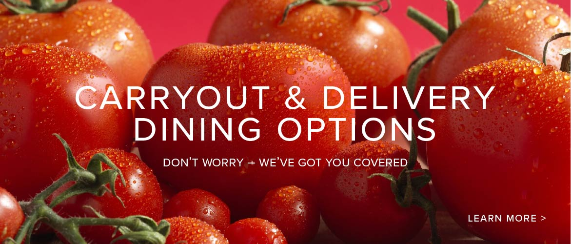 Carryout and Delivery Options